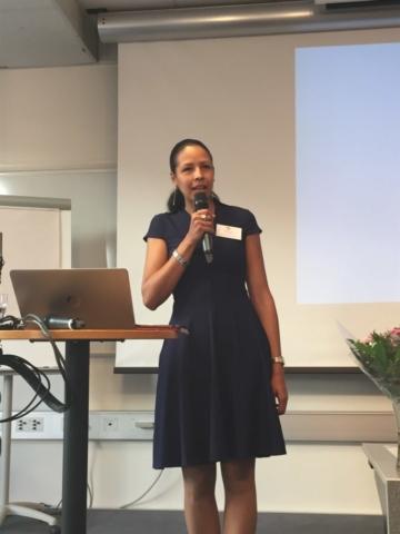 Josefina Larsson – SAS ordförande – hälsar alla välkomna till 2017 års Audiologiska Dag